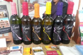Les vins de fruits Ampalia.