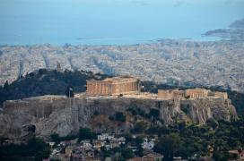 Athènes, capitale de la Grèce