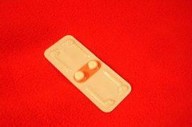 Une pilule contraceptive