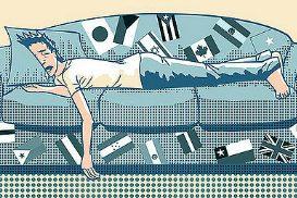 Dormir sur un canapé