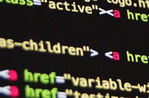 Article : Des phrases et des lignes de code