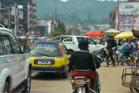 Bamenda, une des villes anglophones du Cameroun