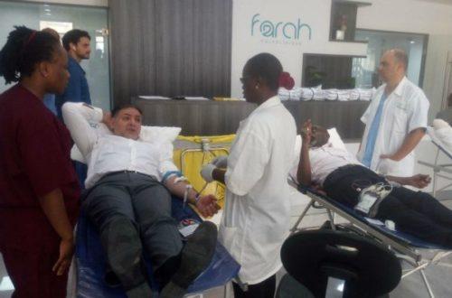 Article : Don de sang : la polyclinique Farah mobilise son personnel pour sauver des vies