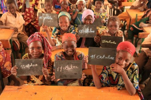 Article : Journée internationale des filles : l'Afrique doit encore faire des efforts