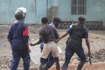 arrestation-police-armee-manif-kinshasa-congo