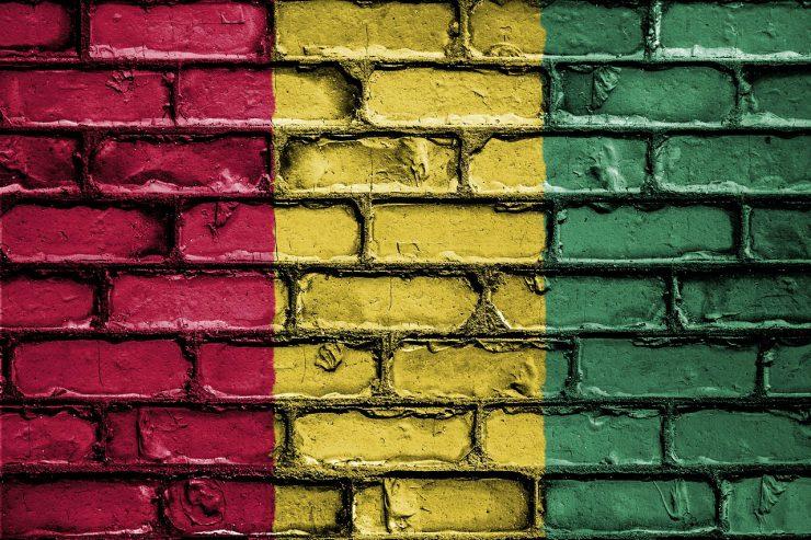 guinee-drapeau-conakry-mur