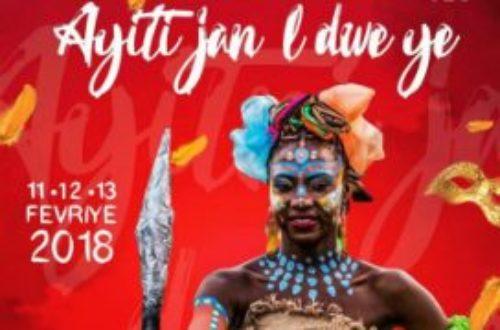 Article : Ayiti Jan'l Dwe Ye : le thème choisi pour le carnaval 2018