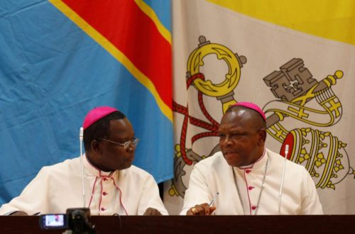 Article : Les évêques catholiques congolais sollicitent l'aide du Canada en vue des élections