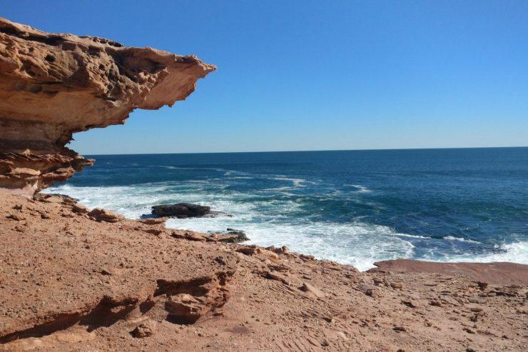 plage-mer-roche-rocher-kalbarri-australie