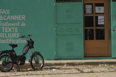 Internet, Tchad, Cybercafé, mobile