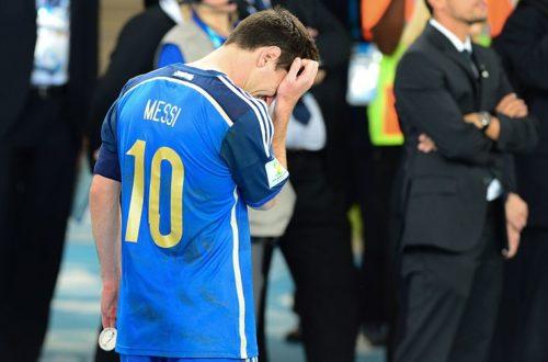 Article : Messi n'a pas répondu à l'appel
