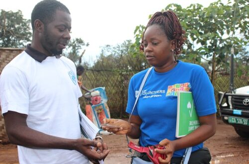 Article : Visite du site des réfugiés de Gado-Badzere, à l'Est-Cameroun