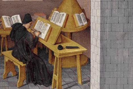 moine-copiste-ecriture-francophonie