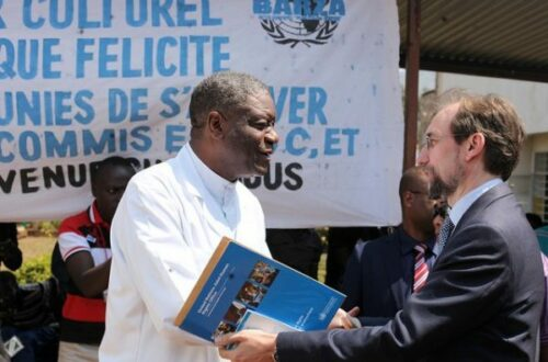 Article : RDC : un Nobel pour exorciser la «médiocrité» des politiques ?