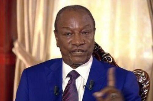 Article : Guinée: les 7 infox d'Alpha Condé sur TV5 Monde