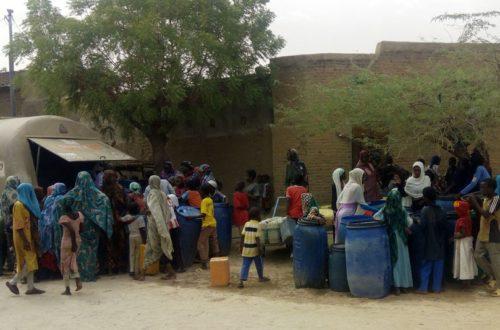Article : De l'eau pour Abéché: la solution communautaire
