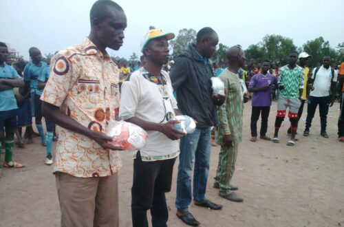 Article : Sotouboua: Gala de football pour mobiliser les citoyens au recensement électoral