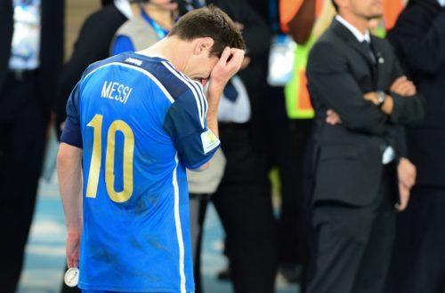 Article : Lionel Messi et ses buts qui ne servent à rien