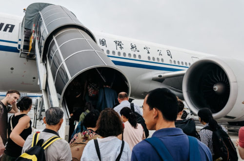 Article : Touriste !