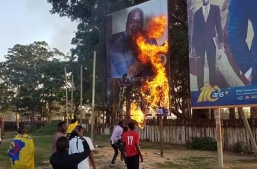 Article : En RDC, aujourd'hui, on brûle des effigies... demain qui brûlera-t-on ?