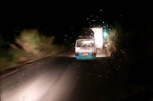 Article : La nuit, sur la route nationale n°5, rien ne va