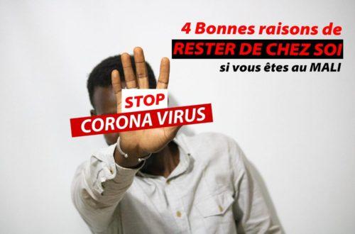 Article : 4 bonnes raisons de rester chez soi, si vous êtes au Mali