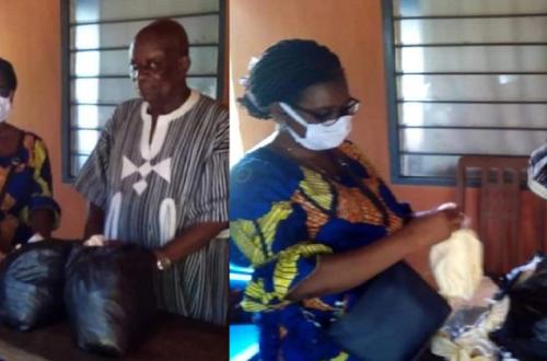 Article : Covid-19 : les filles et fils d'Agou-Nyogbo, au Togo, se mobilisent