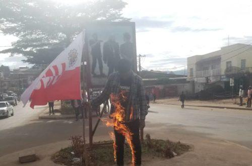 Article : RDC : Fiston Bearckmans, l'immolé de Bukavu