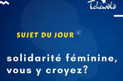 Article : Covid-19: La solidarité féminine comme rempart