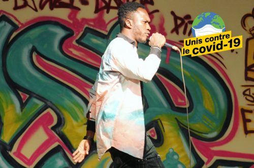 Article : Akeem Eking, artiste nigérien mobilisé face au Covid-19