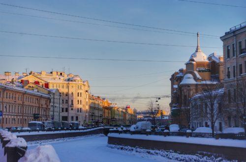 Article : Le long du canal Griboïedov à Saint-Pétersbourg