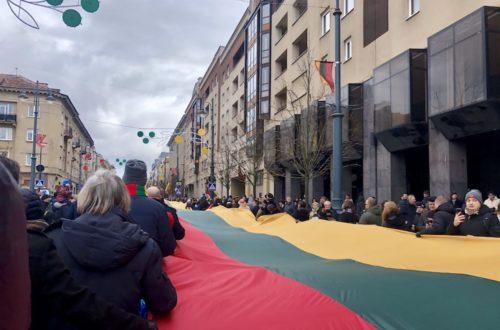 Article : Fêter son indépendance deux fois, et pourquoi pas? Les Lituaniens le font en tout cas.