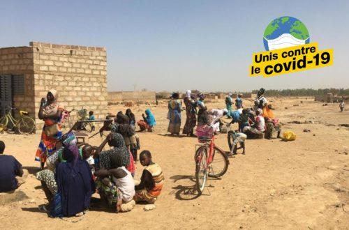 Article : Les déplacés internes du Burkina Faso face au Covid-19