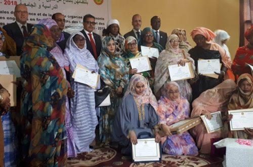 Article : Fête du 8 mars, les Affaires sociales honorent des femmes et des filles qui se sont distinguées
