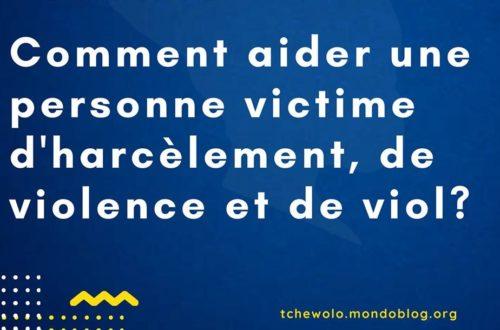 Article : Comment aider une victime de violence