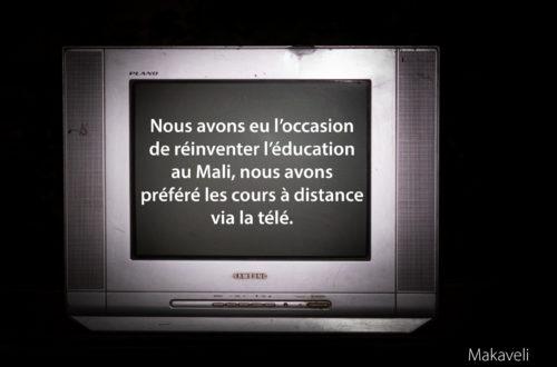 Article : Mali : les cours à la télé ne passent pas