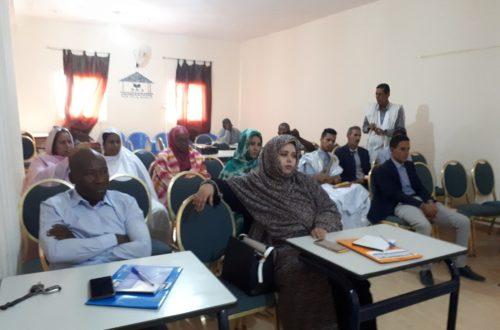 Article : Atelier sur les droits de l'enfant et de la femme à l'attention des journalistes
