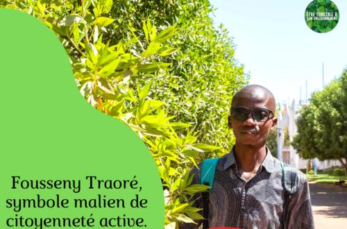 Article : Fousseny Traoré, symbole malien de citoyenneté active