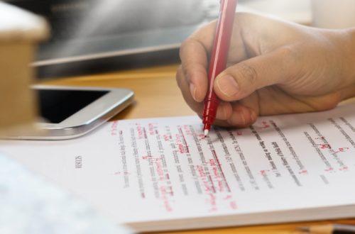 Article : Huit secrets pour faire une relecture efficace de vos billets et les publier sans fautes