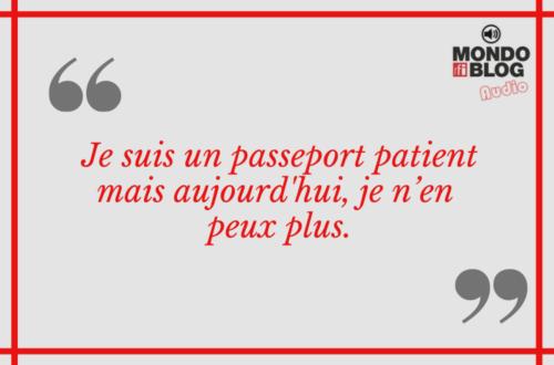 Article : Lettre de mon passeport