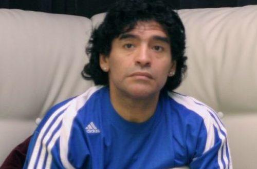 Article : Diego Maradona dans l'Éternité