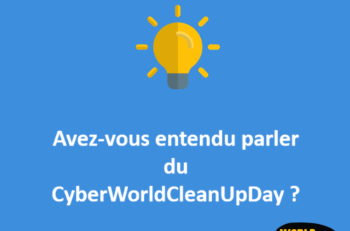 Article : «Cyber World CleanUp Day» : ça vous dit?