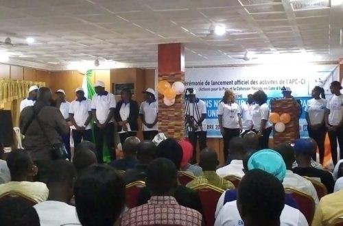 Article : Actions pour la paix en Côte d'Ivoire: l'association APC-CI démarre officiellement ses activités