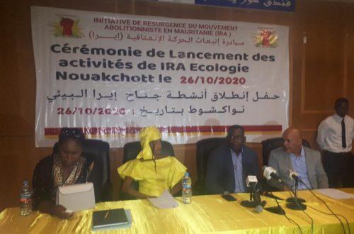 Article : Des droits de l'homme à l'écologie, IRA Mauritanie élargit ses domaines d'intervention