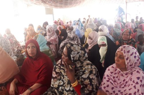 Article : Centre de santé de Toujounine : une journée avec les femmes handicapées sur la planification familiale