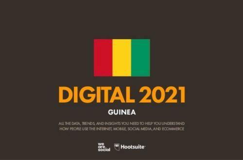 Article : Guinée: situation du numérique en 2021