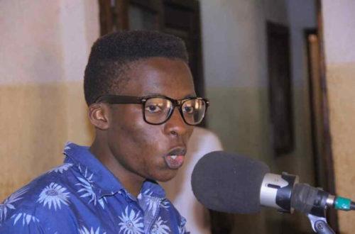 Article : Le jeune Joël Mahamba remporte le premier grand prix au concours Chansons sans frontières