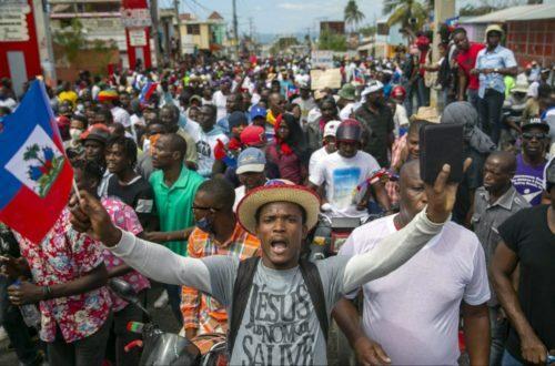 Article : Haïti : l'histoire retiendra vos noms