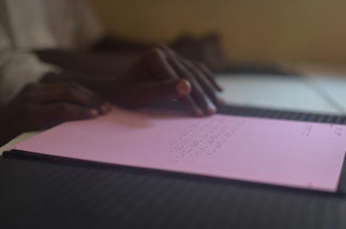Article : Don de livres en braille : l'élan de cœur du Centre de Transcription et d'Edition en Braille de Toulouse à N'Djaména