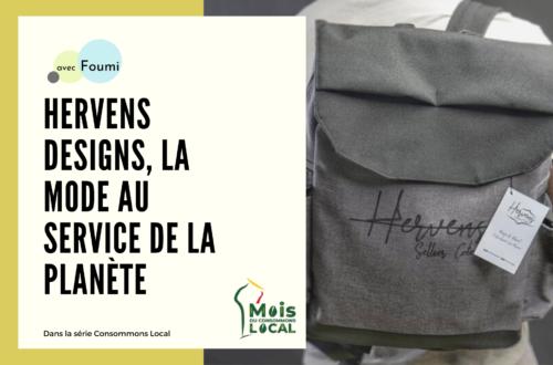 Article : Hervens Designs, la mode au service de la planète